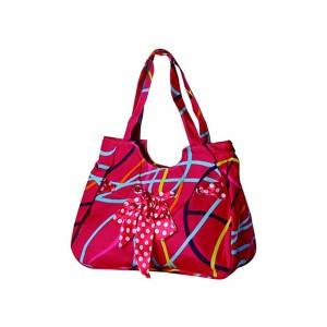B0045: FLOWER BAG, HANGBAG,CANVAS BAG