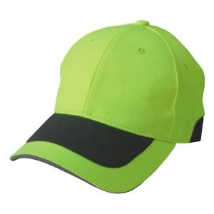 568: reflective fabric cap,6 panel cap,neon cap