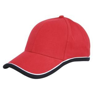 535: combination cap, cotton cap,6 panel cap