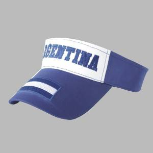 522: world cup visor,cotton visor,emboridery visor hat
