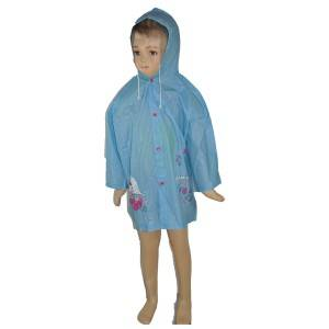 R3201B:children raincoat