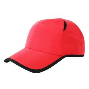 347: 6面板帽,微纤维帽