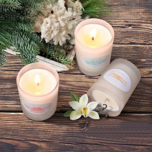 Help sleep cushioning candle aromatherapy for relax and decorative