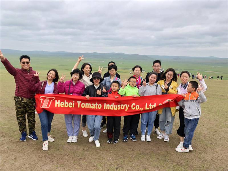 Hebei Tomato 2019 group building activities