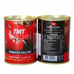 Canned tomato paste 400g