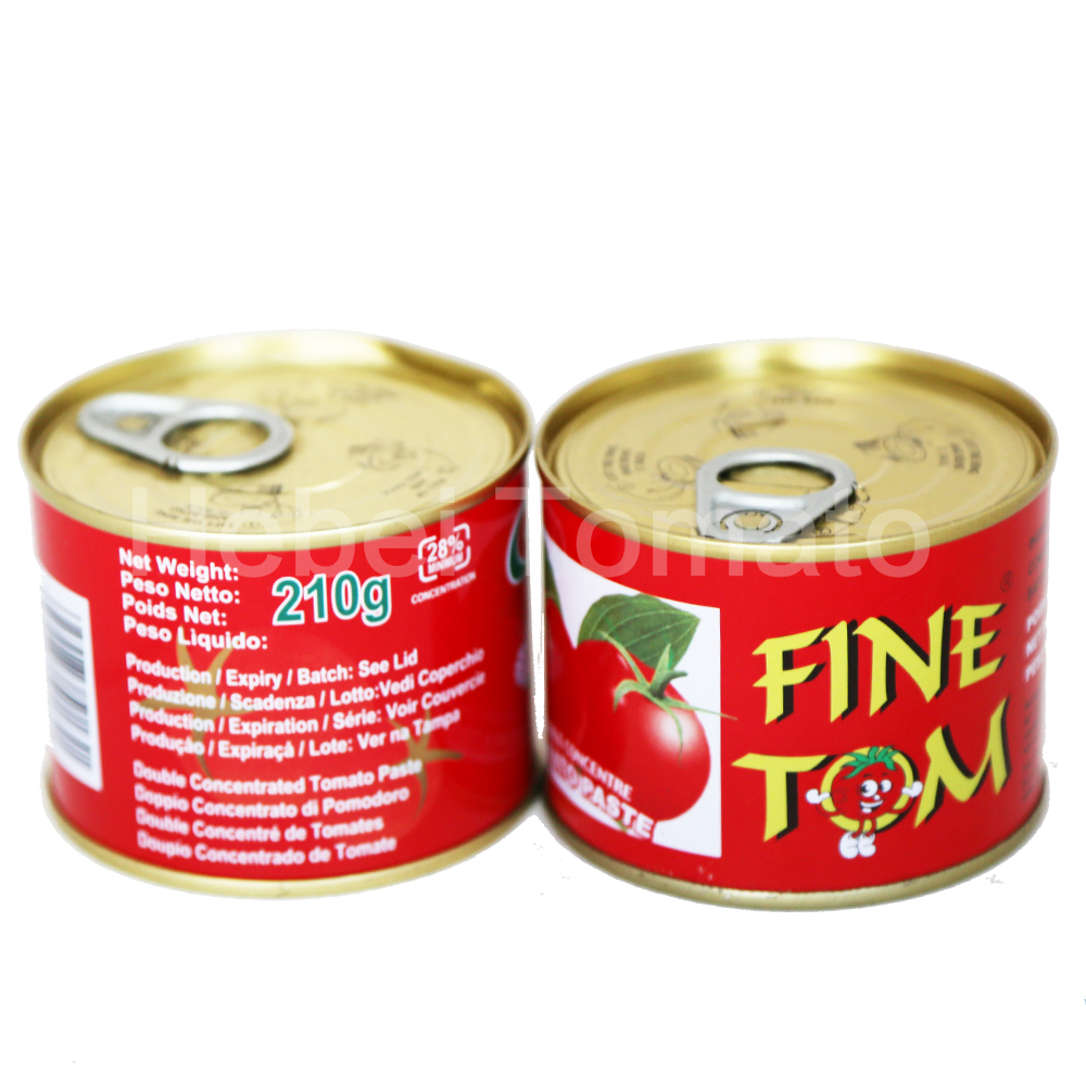 Canned tomato paste 210g Featured Image