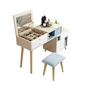 YF-S1 Oak Compact Vanity Table