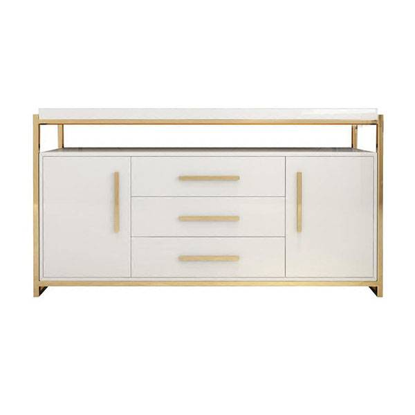 YF-H-802 tempered glass tabletopm modern sideboard for kitchen Featured Image