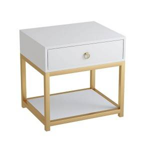 YF-H-201 Home Nightstand Side Table white