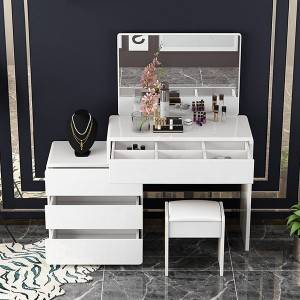 Simple and elegant design makeup table
