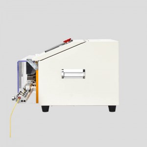 HC-608C wire stripping machine with open window
