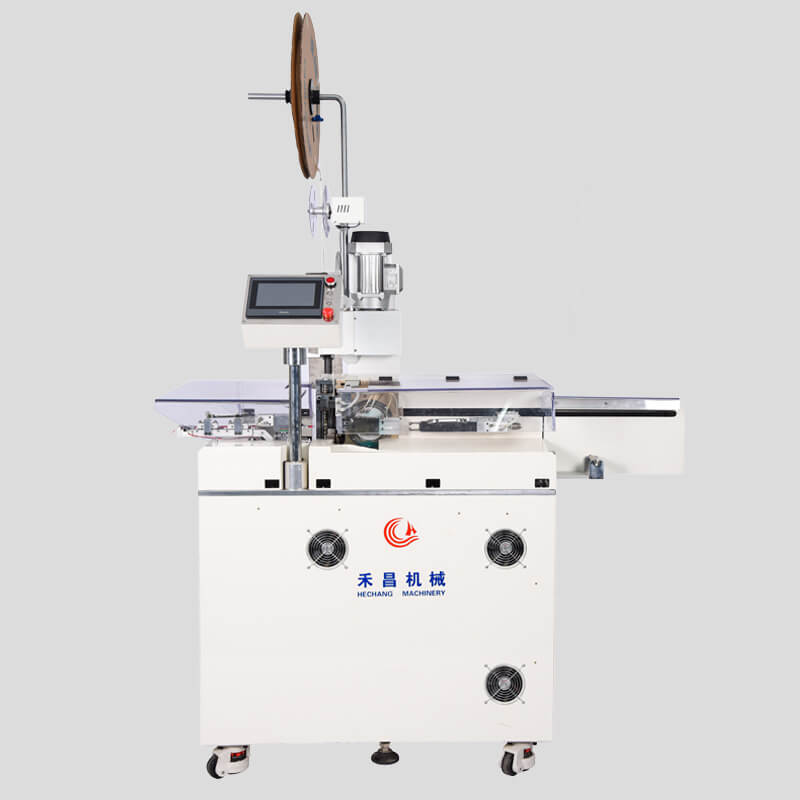 HC-10+NT Automatic one end crimping another end tinning machine