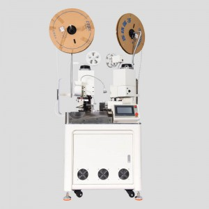 HC-20 fully automatic double ends stripping crimping machine
