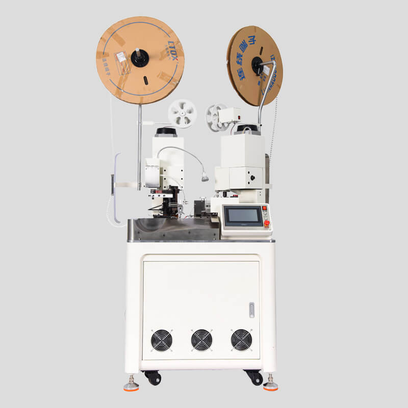 HC-20 fully automatic double ends stripping crimping machine Featured Image