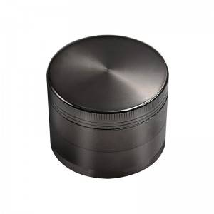 50MM/55MM/63MM Herb Grinder 4 Piece Zinc Alloy Spice Crusher