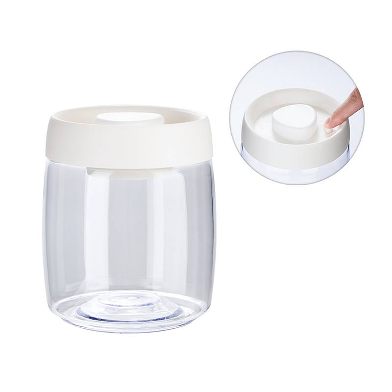 800ml Vacuum Seal Storage Jar for Herbs, Coffee bean, Tea, Food, Spice