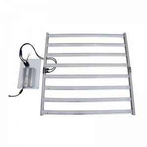 640W Foldable LED Grow Light Bars Commercial Lighting