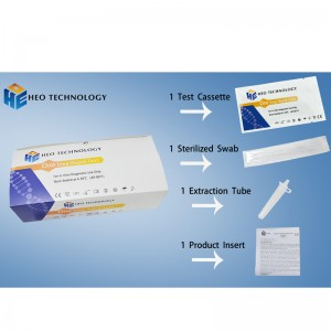 COVID-19 Antigen Rapid Test Cassette Corona Virus Rapid Test Kit