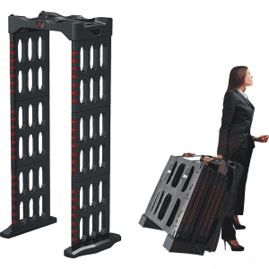 Portable Walk Through Metal Detector