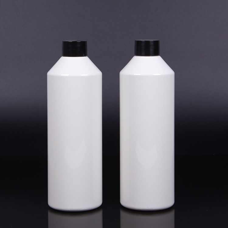 Refill container 550ml gray color car shampoo bottle