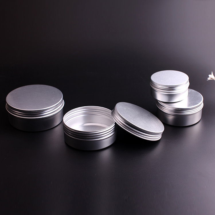 Personal care 80ml 150ml 200ml 250ml aluminum cosmetic jar