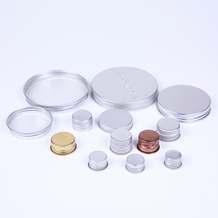 Aluminum Screw Cap for Bottle Packing , Wholesale Bottle Cap  Packing