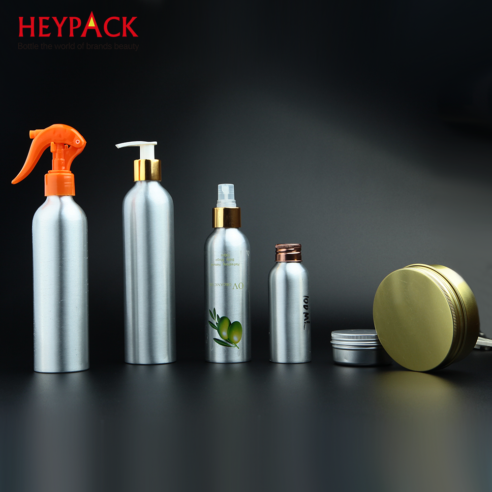 Empty Bullet Shape Metal Bottle for Skin Care Use Aluminum Bottle Packing