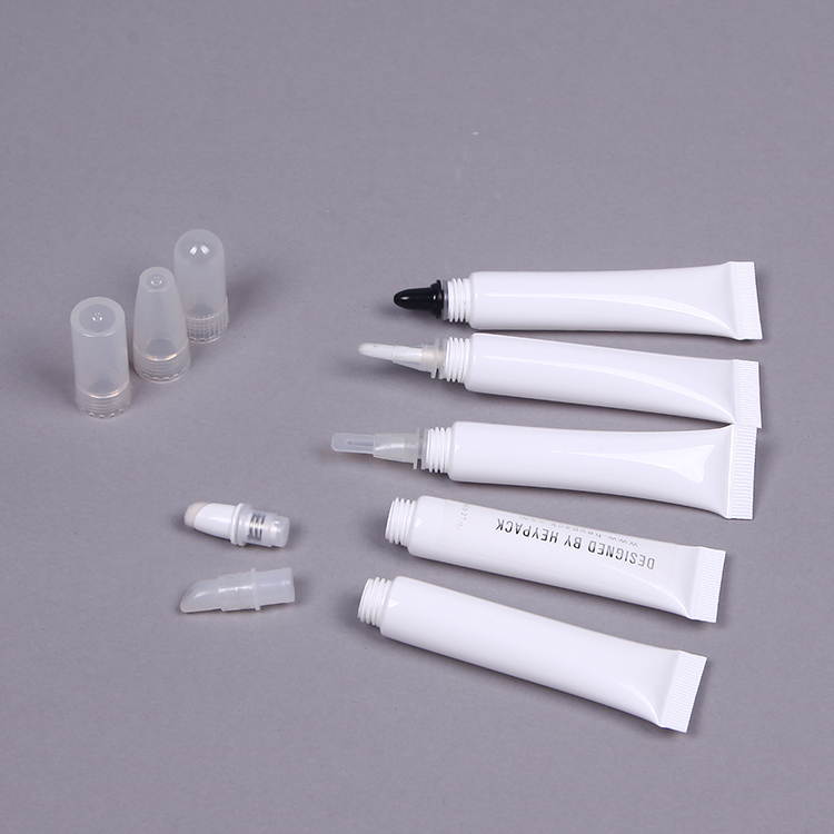 D16mm Lip & eye care cream Removeable top cosmetic squeeze tube