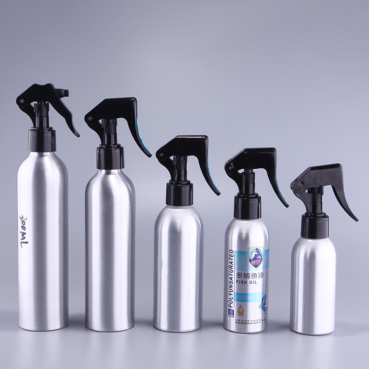Aluminum spray bottle cleaning car/window/table convenient tools