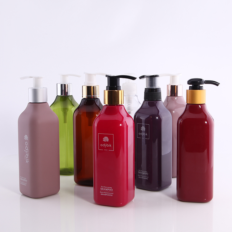 200/250/300/350ml Customized packaging  colored  pump bottle for body lotion