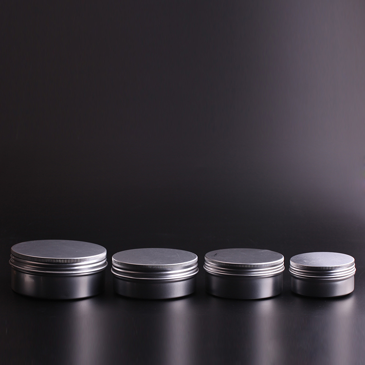 cosmetic aluminium jar, the package for hair product, cosmetic aluminium container