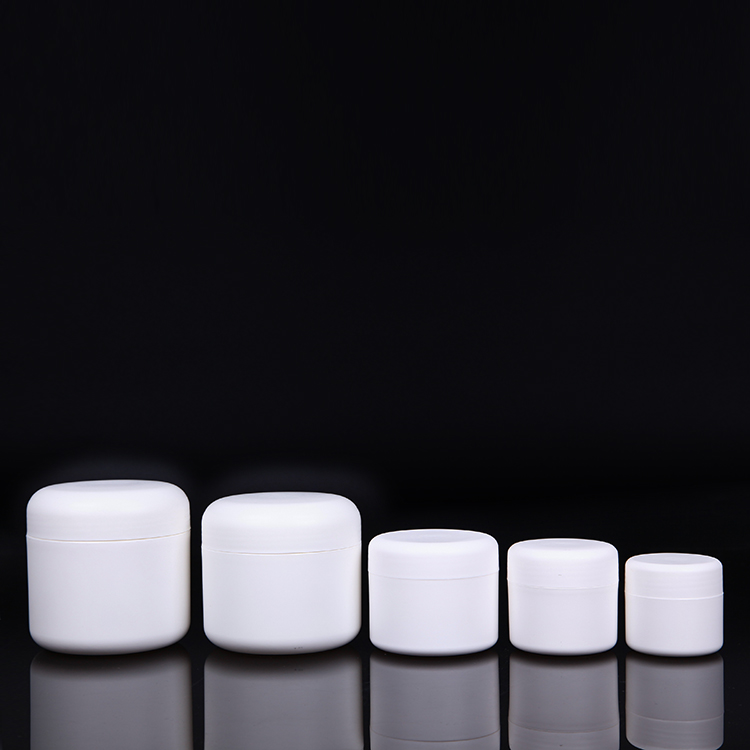 Empty repairing gel cream white color PP plastic jars 200ml 250ml 100ml 50ml 30ml