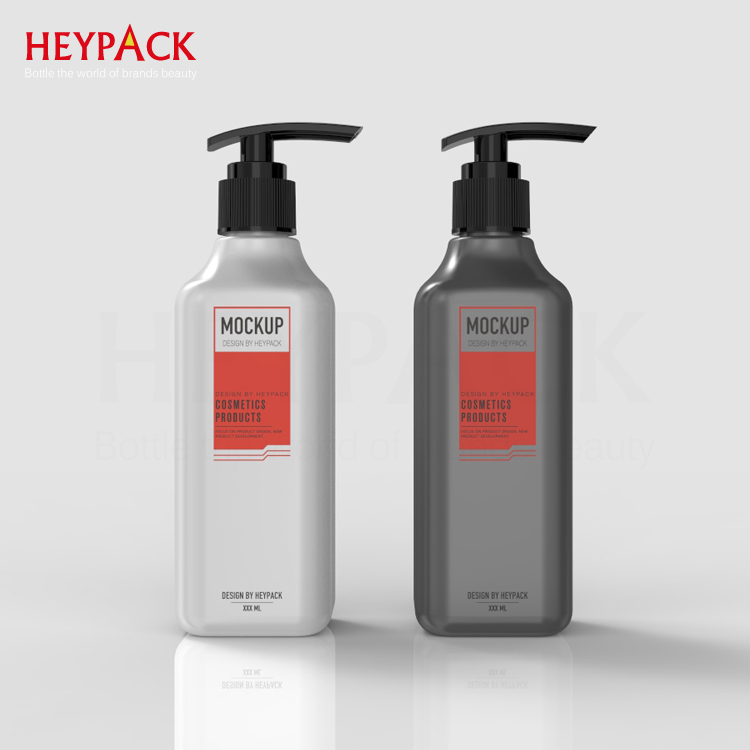 guangzhou warehouse 250ml OEM/ ODM plastic bottles for shampoo and customized design 250ml plastic bottles