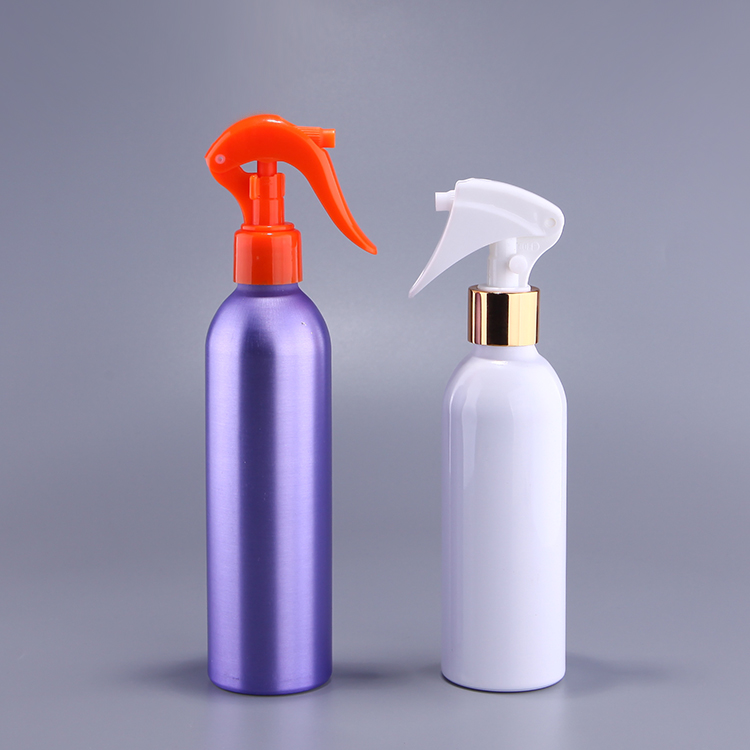 Aluminum 50ml 100ml 120ml 200ml 250ml 300ml trigger pump salon spray bottle