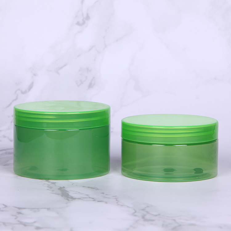 Solid PET 300g 200g cosmetic jar