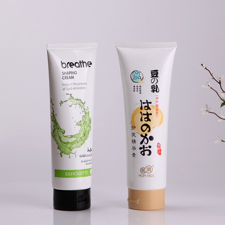 Shampoo tube packaging D50mm cosmetic plastic tube 200ml 300ml 400ml