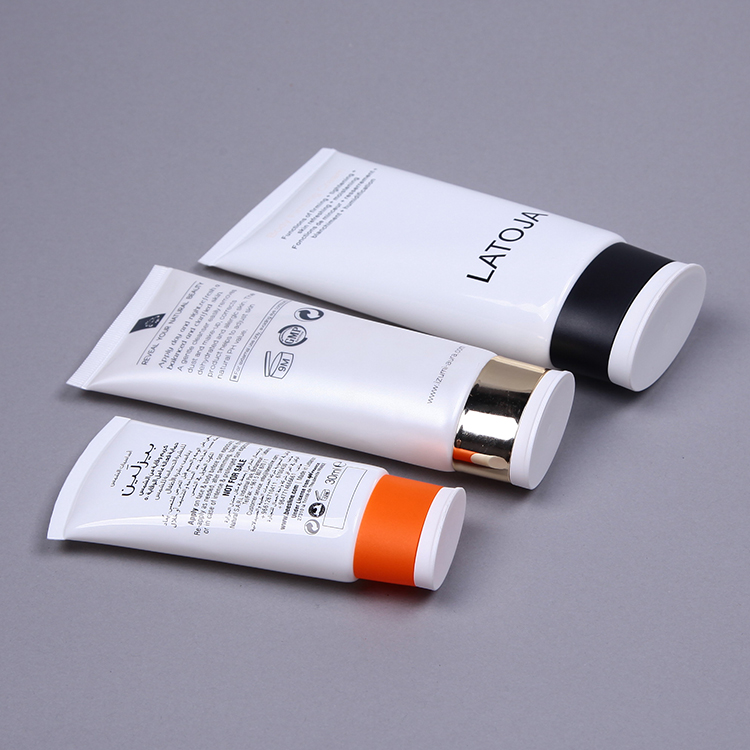 Normal Oval PE plastic packaging tubes