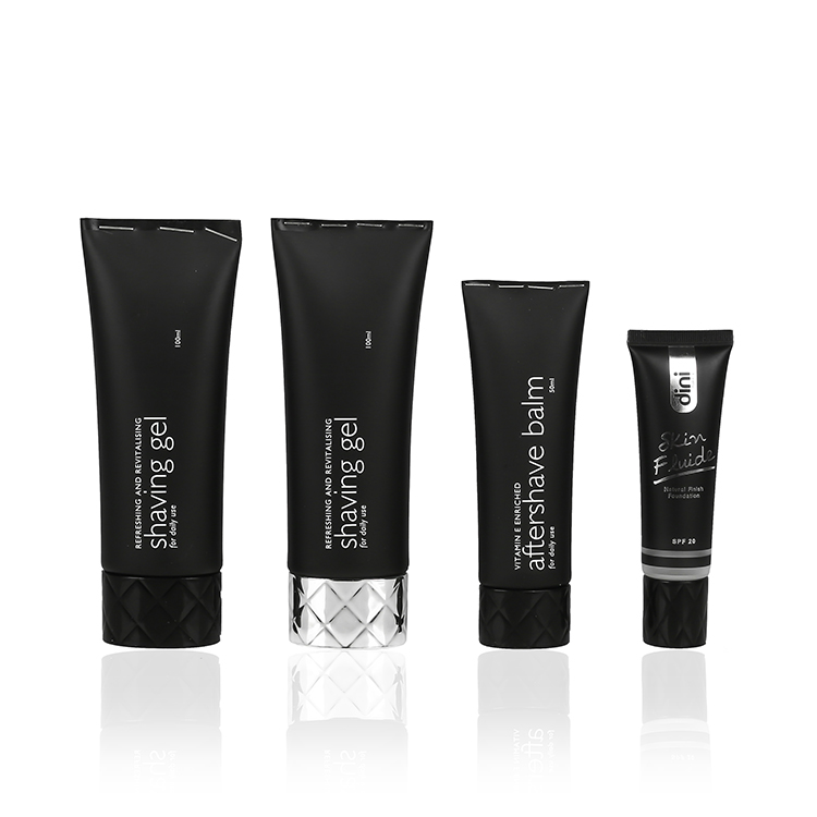 oval shape skincare tube packaging