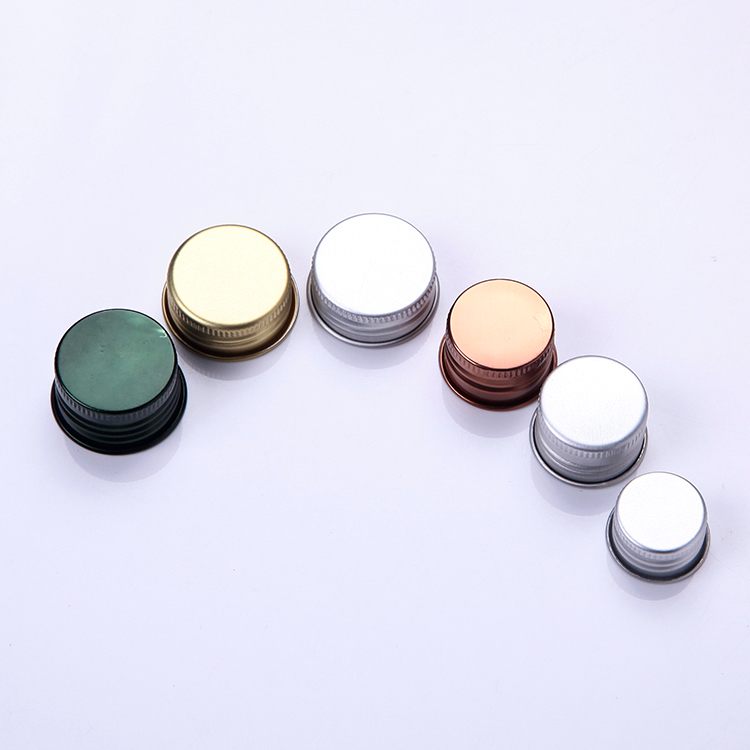 20mm 24mm 28mm cosmetic aluminum lid, aluminum cap for bottle