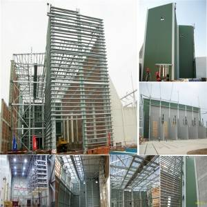 Steel structure for converter station