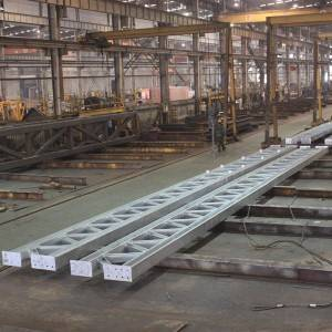 H-shaped welded truss