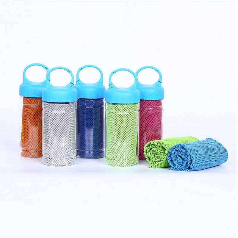 LO-0113 Branded Cooling Towel In Tube