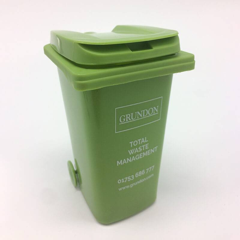 OS-0118 Imprinted Dustbin Pen Holder