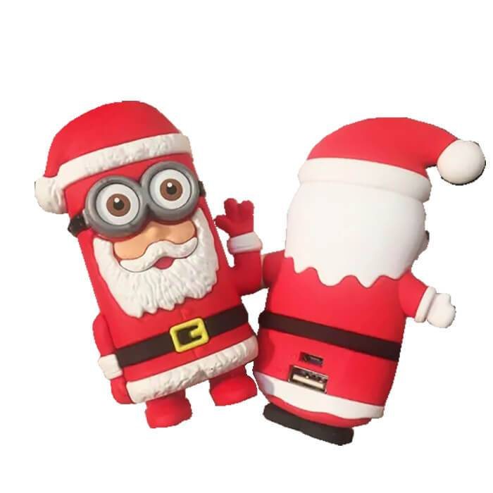 EI-0079 Custom Santa Portable Charger