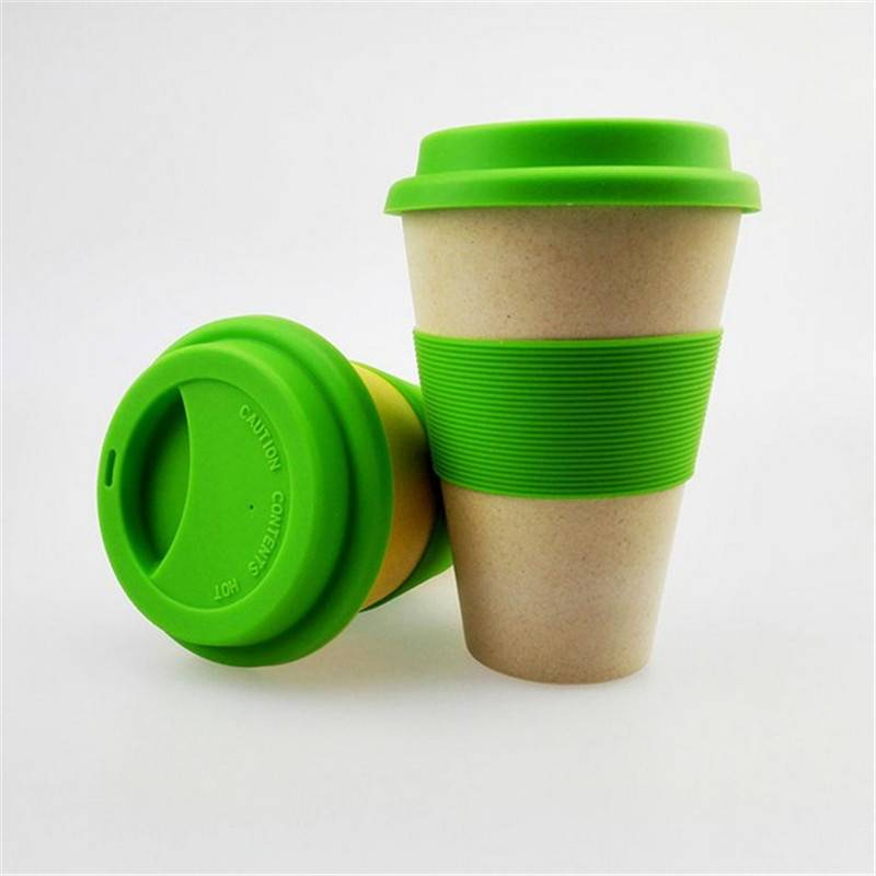 HH-0233 Promotional Eco Friendly Bamboo Fiber Travel Mug