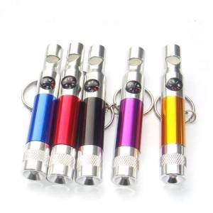 LO-0048 Custom Keychain With Whistle