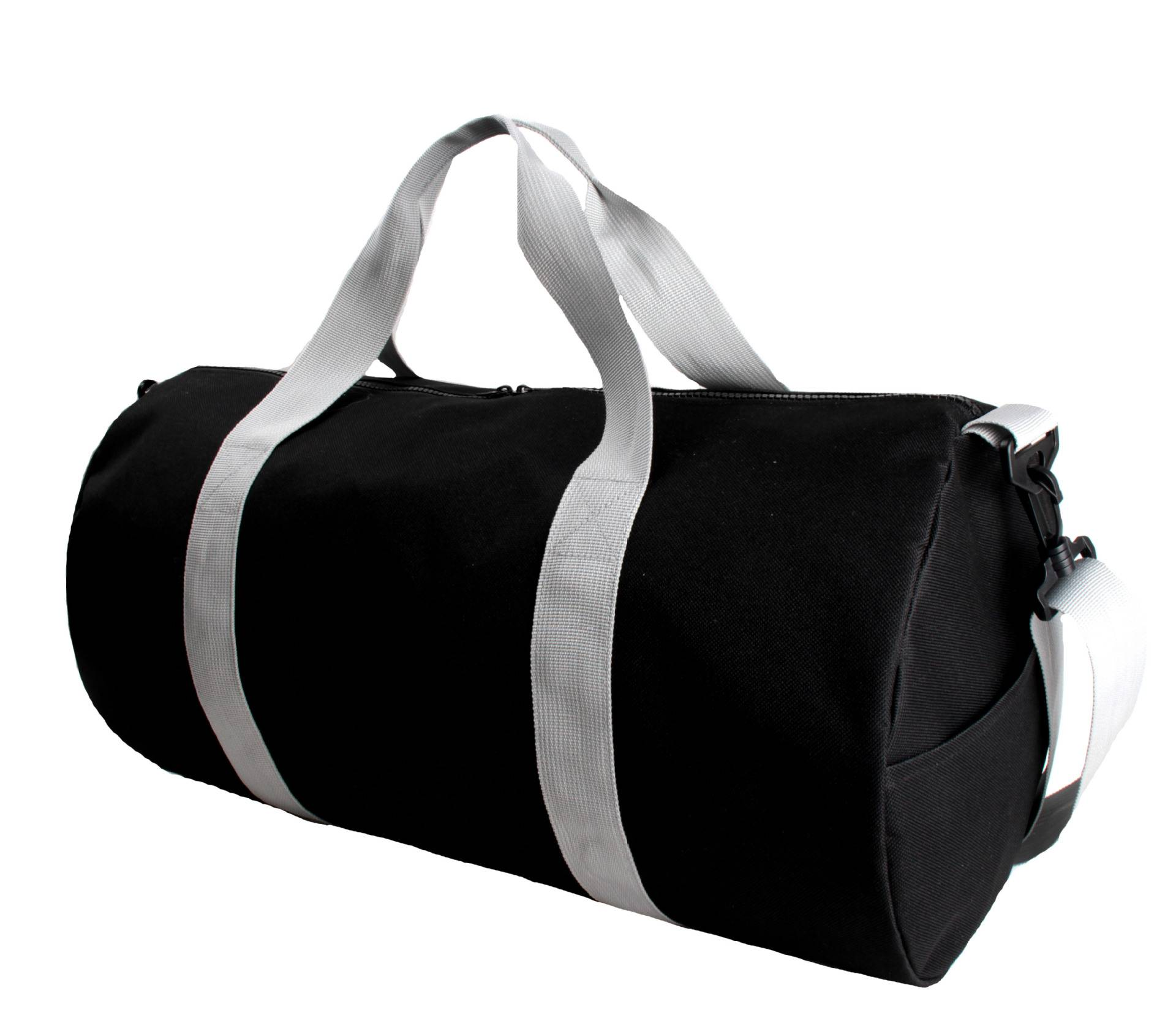 BT-0018 Custom printed 600d polyester duffle bag