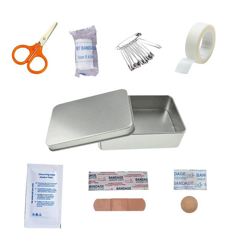HP-0109 Custom First-Aid Kit in Tinbox