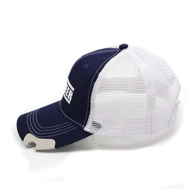 AC-0061 Meshback baseball cap with bottle opener