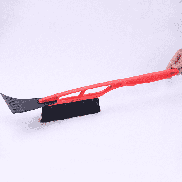 AM-0022 Promotional long handle ice scraper snow brush